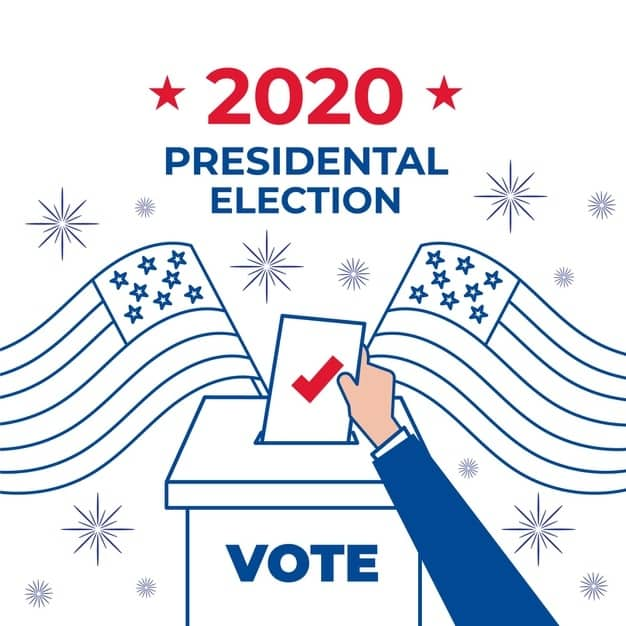 US election 2020 Who is ahead  Trump or Biden